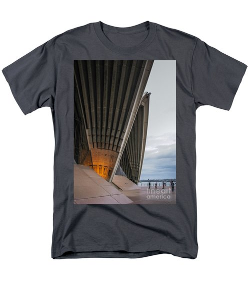 Entrance To Opera House In Sydney Men's T-Shirt  (Regular Fit) by Jola Martysz