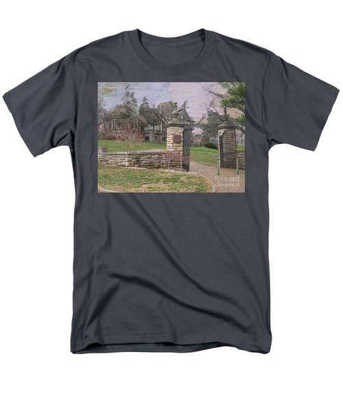 Epperson House House On The Hill Men's T-Shirt  (Regular Fit) by Liane Wright