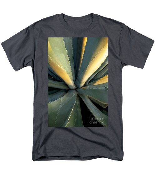 Evening Agave Men's T-Shirt  (Regular Fit) by Ellen Cotton