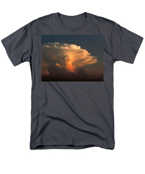 Men's T-Shirt  (Regular Fit) featuring the photograph Evening Buildup by Charlotte Schafer