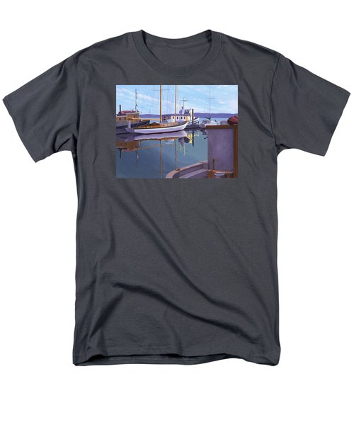Evening On Malaspina Strait Men's T-Shirt  (Regular Fit) by Gary Giacomelli
