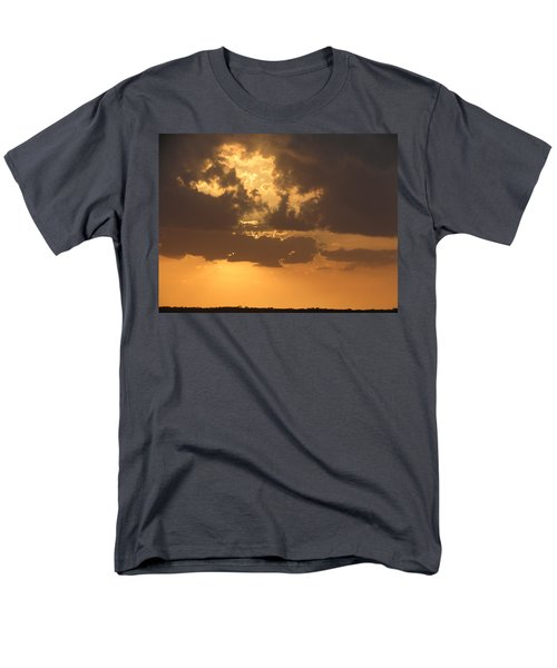 Men's T-Shirt  (Regular Fit) featuring the photograph Evening Over Lake George by Fortunate Findings Shirley Dickerson