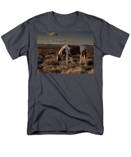 Evening Solitude In Sand Wash Basin Men's T-Shirt  (Regular Fit)