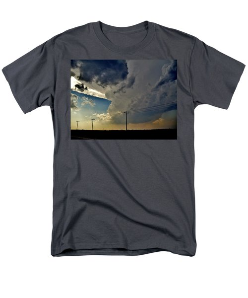 Explosive Texas Supercell Men's T-Shirt  (Regular Fit) by Ed Sweeney