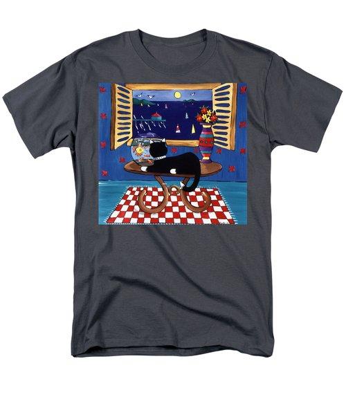 Eye On Lunch Men's T-Shirt  (Regular Fit) by Lance Headlee