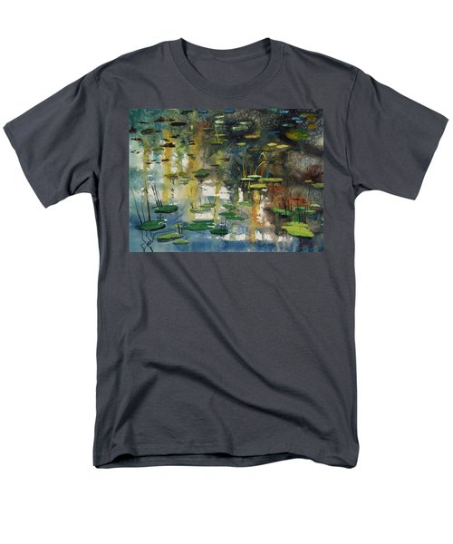 Faces In The Pond Men's T-Shirt  (Regular Fit) by Ryan Radke