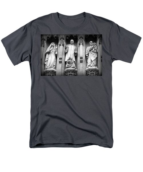 Faithful Witnesses -- Martin Luther King Jr Remembered With Bishop Romero And Duchess Elizabeth Men's T-Shirt  (Regular Fit) by Stephen Stookey