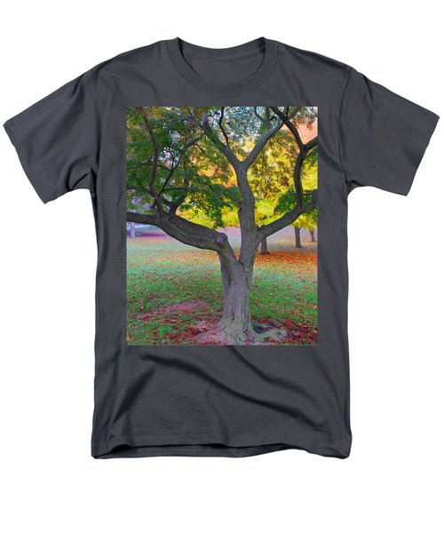 Men's T-Shirt  (Regular Fit) featuring the photograph Fall Color by Lisa Phillips