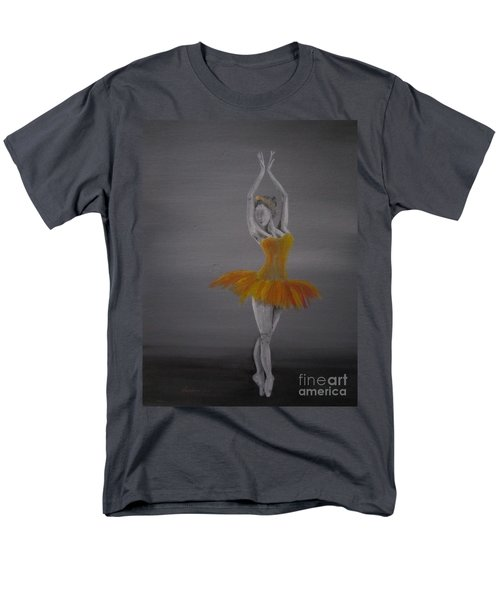 Men's T-Shirt  (Regular Fit) featuring the painting Fall Dancer 2 by Laurianna Taylor