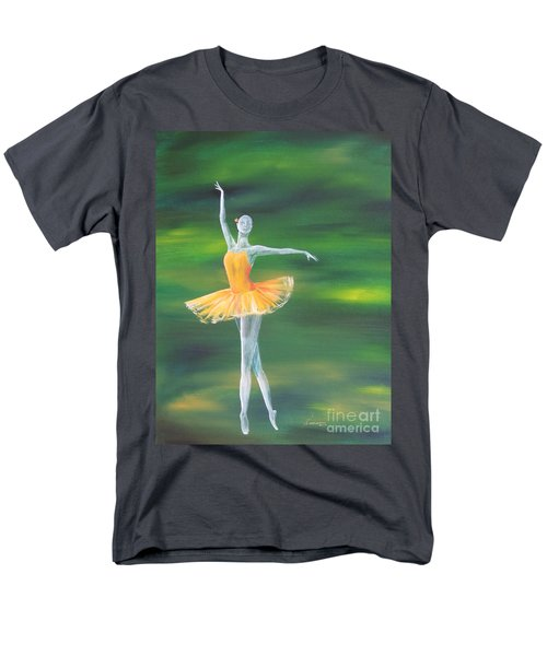 Men's T-Shirt  (Regular Fit) featuring the painting Fall Dancer 3 by Laurianna Taylor