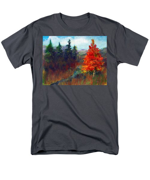 Fall Day Men's T-Shirt  (Regular Fit) by C Sitton