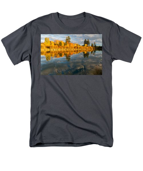Men's T-Shirt  (Regular Fit) featuring the photograph Fall Fractal by Kevin Desrosiers