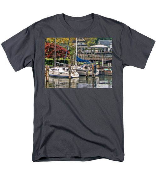 Fall Memory Men's T-Shirt  (Regular Fit) by Tammy Espino