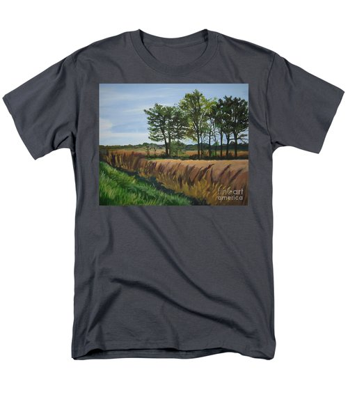 Fall On Douglas Road Men's T-Shirt  (Regular Fit)