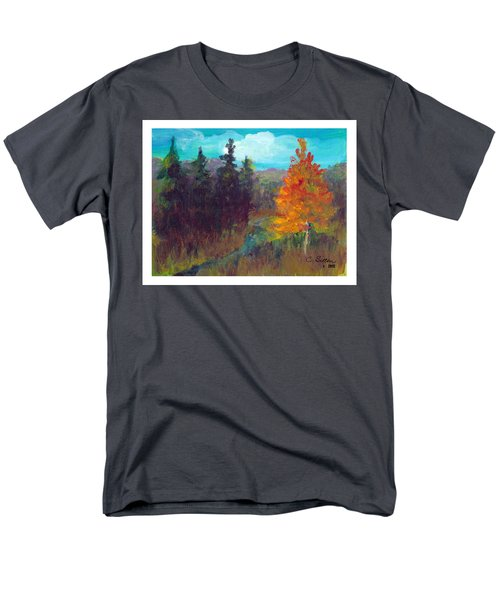 Fall View Men's T-Shirt  (Regular Fit) by C Sitton
