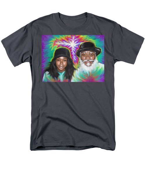 Father And Daughter Spirit Ministry  Men's T-Shirt  (Regular Fit) by Hidden  Mountain