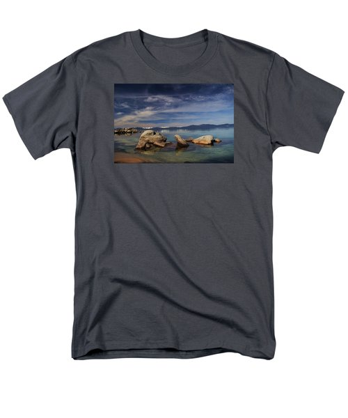 Men's T-Shirt  (Regular Fit) featuring the photograph Fatman In A Bathtub by Sean Sarsfield