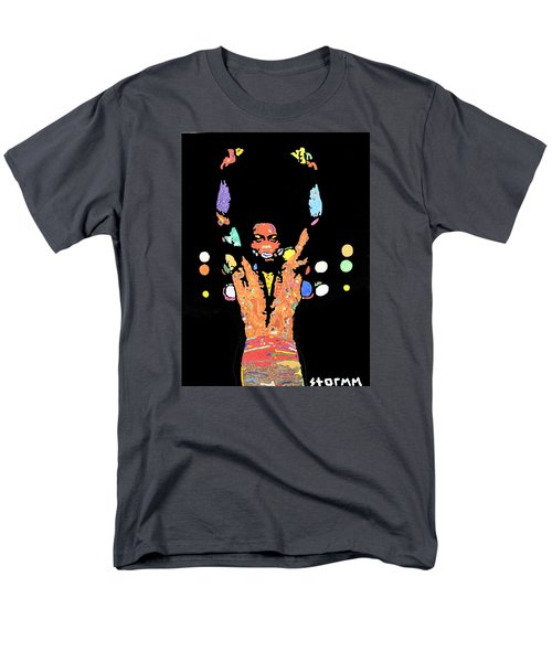 Fela Kuti Men's T-Shirt  (Regular Fit) by Stormm Bradshaw