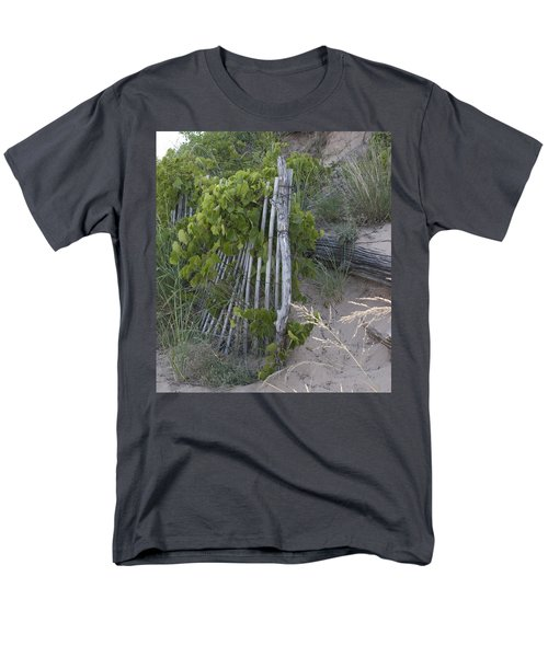 Fence N Sand Men's T-Shirt  (Regular Fit) by Tara Lynn