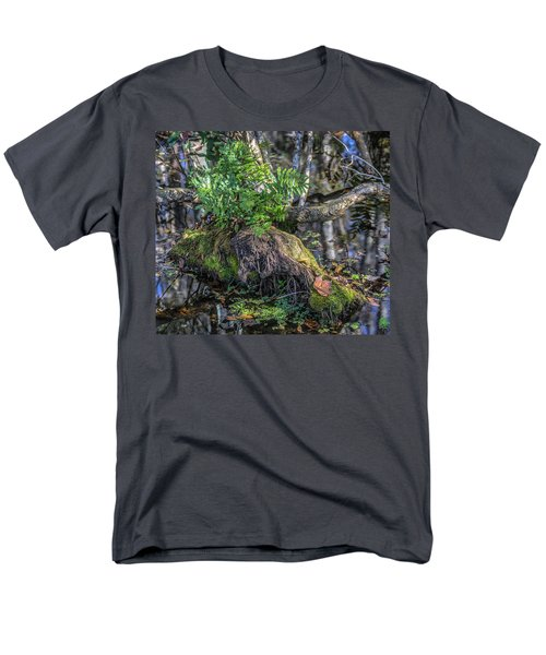 Fern In The Swamp Men's T-Shirt  (Regular Fit) by Jane Luxton