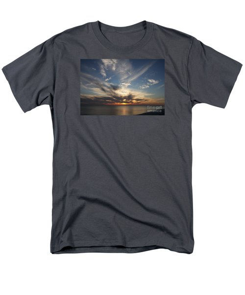 Fiery Sunset Skys Men's T-Shirt  (Regular Fit) by Christiane Schulze Art And Photography