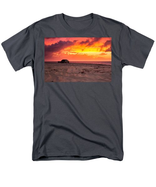 Fire In The Sky Men's T-Shirt  (Regular Fit) by Brian Caldwell