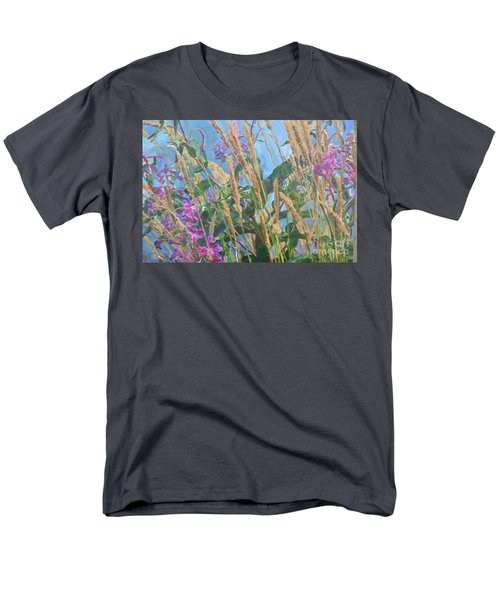 Men's T-Shirt  (Regular Fit) featuring the photograph Fireweed Number Six by Brian Boyle