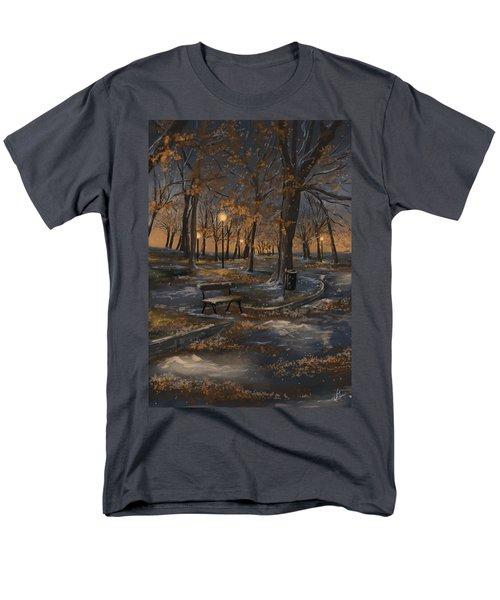First Snowfall Men's T-Shirt  (Regular Fit) by Veronica Minozzi