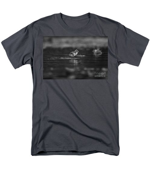Men's T-Shirt  (Regular Fit) featuring the photograph   First Steps by John F Tsumas