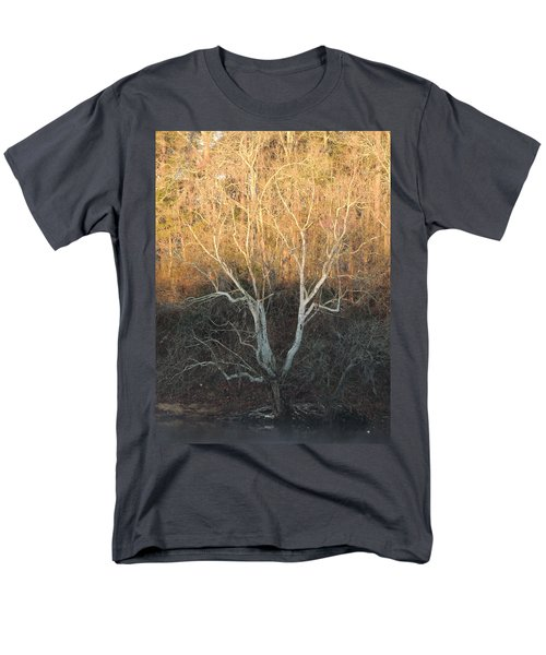 Men's T-Shirt  (Regular Fit) featuring the photograph Flint River 12 by Kim Pate