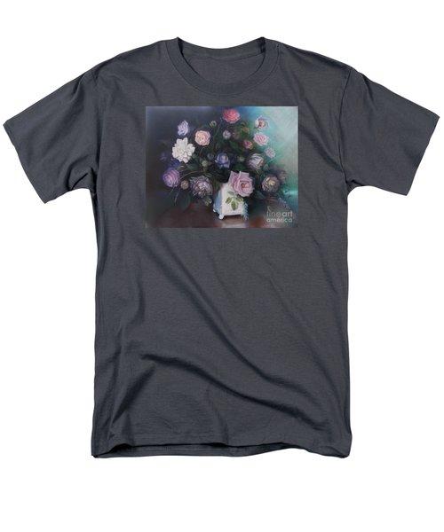 Floral Still Life Men's T-Shirt  (Regular Fit) by Marlene Book