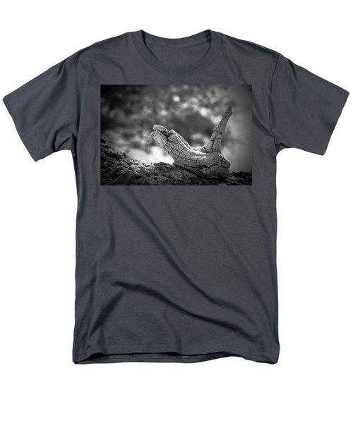 Men's T-Shirt  (Regular Fit) featuring the photograph Florida Keys Driftwood by Bradley R Youngberg