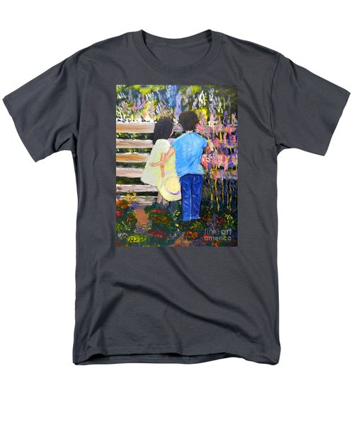 Flowers For Her Men's T-Shirt  (Regular Fit) by Pamela  Meredith