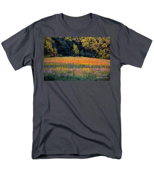 Flowers In The Meadow Men's T-Shirt  (Regular Fit) by Deb Halloran