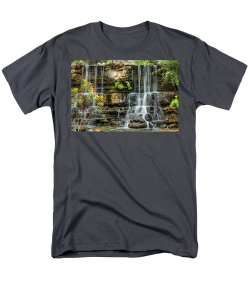 Flowing Falls Men's T-Shirt  (Regular Fit) by Dave Files