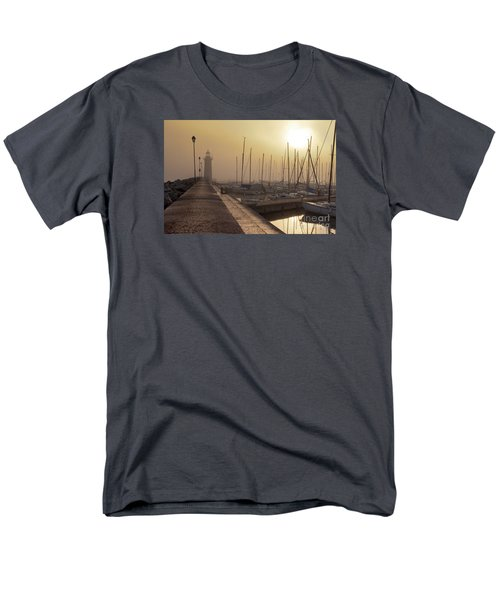 Foggy Morning Men's T-Shirt  (Regular Fit) by Simona Ghidini