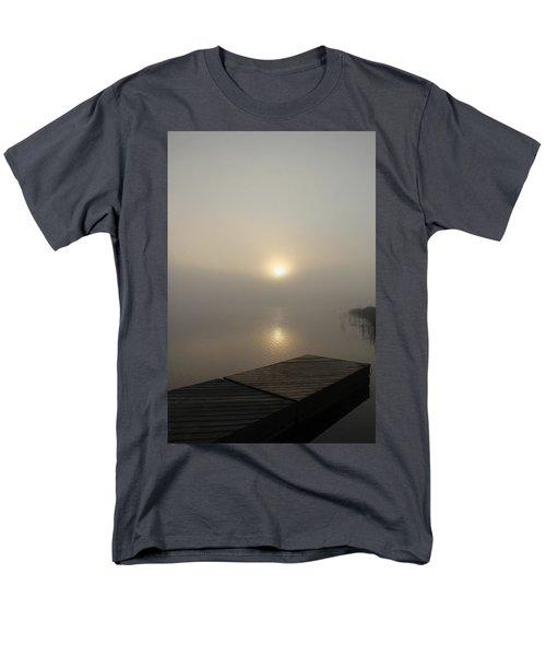 Foggy Reflections Men's T-Shirt  (Regular Fit) by Debbie Oppermann