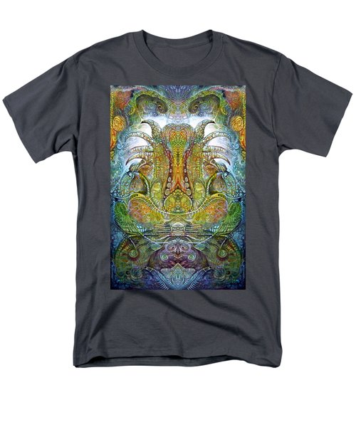 Men's T-Shirt  (Regular Fit) featuring the digital art Fomorii Throne by Otto Rapp