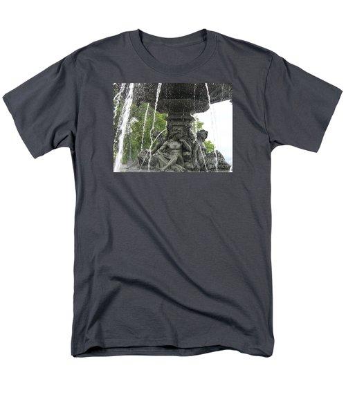 Fontaine De Tourny Men's T-Shirt  (Regular Fit) by Lingfai Leung