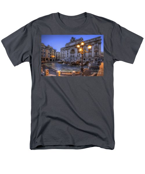 Fontana Di Trevi 3.0 Men's T-Shirt  (Regular Fit) by Yhun Suarez