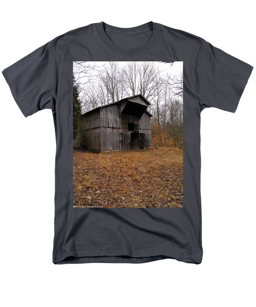 Men's T-Shirt  (Regular Fit) featuring the photograph Forgotten Barn by Nick Kirby