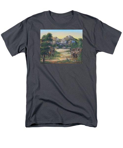 Forgotten Village Men's T-Shirt  (Regular Fit) by Remegio Onia