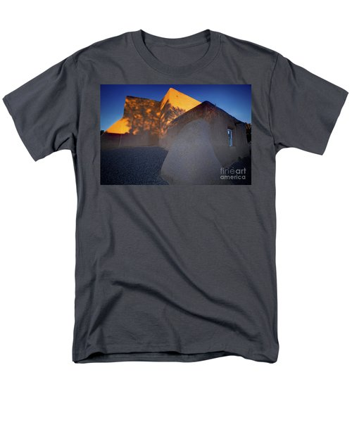 Form And Shadow--san Francisco De Asis - Color Men's T-Shirt  (Regular Fit) by Gary Holmes