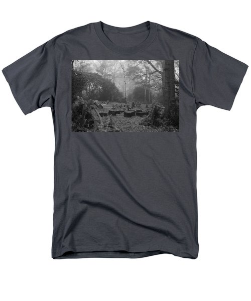 Men's T-Shirt  (Regular Fit) featuring the photograph Forset Trees by Maj Seda