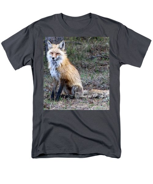 Foxy Lady  Men's T-Shirt  (Regular Fit) by Fiona Kennard