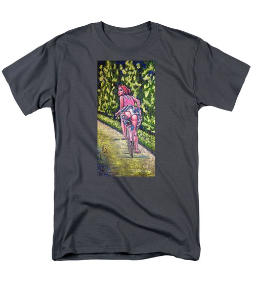 Men's T-Shirt  (Regular Fit) featuring the painting Free by Viktor Lazarev