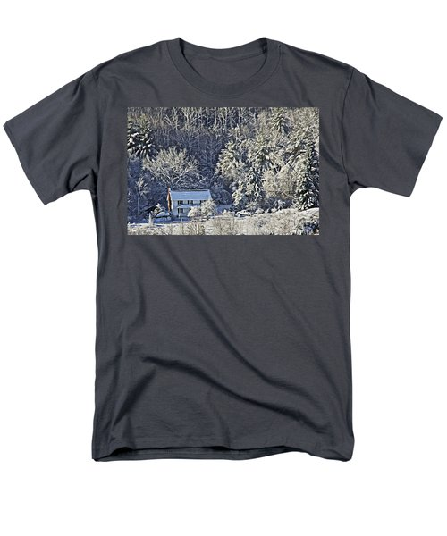 Fresh Snow Men's T-Shirt  (Regular Fit) by Tom Culver