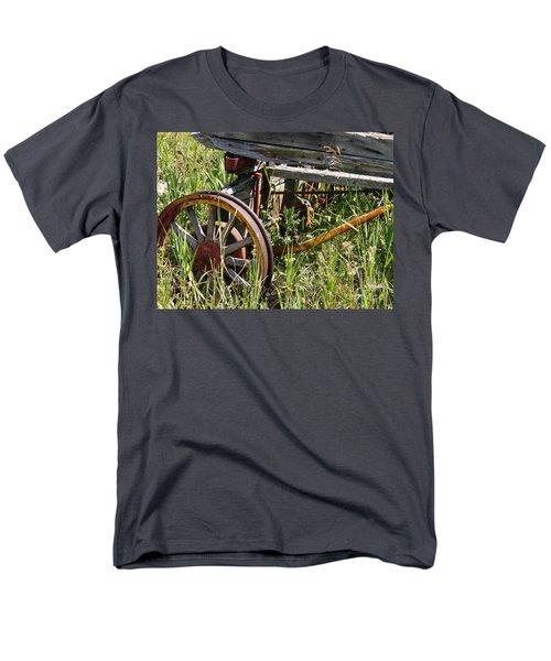 From Rust To Grass Men's T-Shirt  (Regular Fit) by Meghan at FireBonnet Art