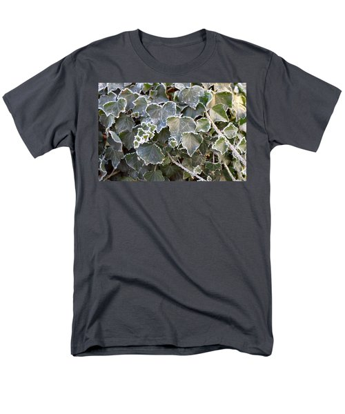 Men's T-Shirt  (Regular Fit) featuring the painting Frozen Hedera Helix 2 by Felicia Tica