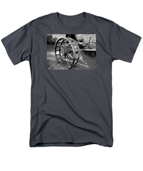 Men's T-Shirt  (Regular Fit) featuring the photograph Frozen In Time by Steven Milner
